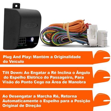 Modulo-assistente-manobra-para-abaixar-retrovisores-p-p-Hyundai-Elantra-PARK-1.2--2-