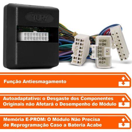 Modulo-de-vidro-eletrico-Tury-Plug-Play-Kia-Cerato-Koup-2-portas-antiesmagamento-PRO-2.1-AD-connectparts---2-