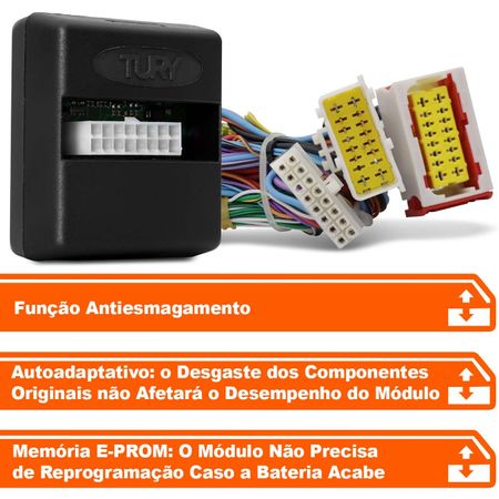 Modulo-de-vidro-eletrico-Tury-Plug-Play-Citroen-C3-2-portas-dianteiras-antiesmagamento-PRO-2.3-BK-connectparts---2-