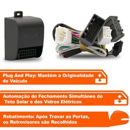 Modulo-Vidro-Eletrico-Tury-PARK-6-CH---Rebatimento-Retrovisores---Fecha-Teto-Solar-Civic-17-a-18-connectparts--2-