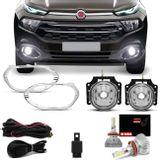 Kit-Farol-de-Milha-Fiat-Toro-2016-2017-2018-Auxiliar-Neblina-com-Aro-Cromado---Par-Lampada-LED-3D-connectparts---1-