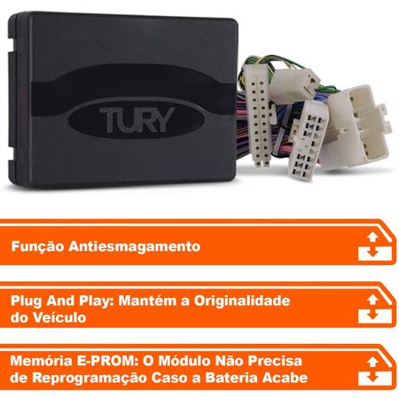 Modulo-de-vidro-eletrico-Tury-Plug-Play-Kia-Picanto-ate-2011-4-portas-antiesmagamento-PRO-4.8-V--connectparts---2-