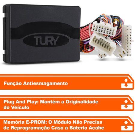 Modulo-de-vidro-eletrico-Tury-Plug-Play-Kia-Sorento-4-portas-antiesmagamento-PRO-4.32-W--connectparts---2-