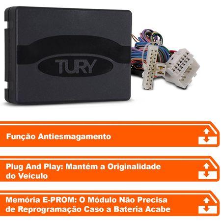 Modulo-de-vidro-eletrico-Tury-Plug-Play-SsangYong-Actyon-Sports-Kyron-4-portas-PRO-4.8-AV-connectparts---2-