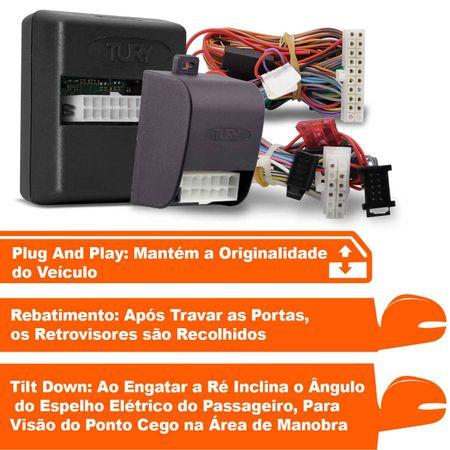 Modulo-Vidro-Eletrico---AssistenteManobra---Rebatimento-Retrovisores-Tury-PARK5.70.0DI-Amarok-10-a-1-connectparts---1-