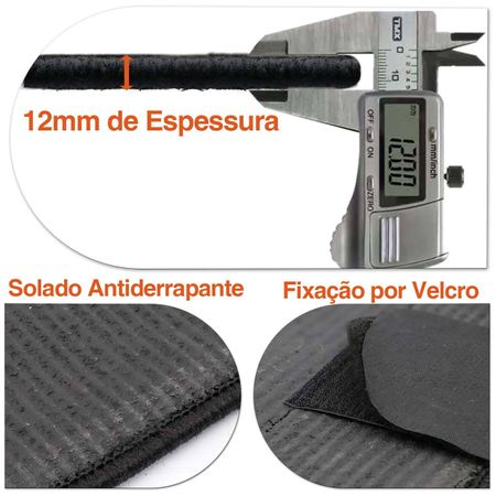 Tapete-Carpete-Premium-Novo-Polo-200-TSI-2018-Preto-12mm-Bordado-HD-4-Pecas-Boucle-connectparts---2-