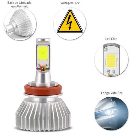 PAR-LAMPADA-LED-H11-SUPER-BRANCA-12V-32W-6000K-4400-Lumens-Carro-Moto-connectparts---1-