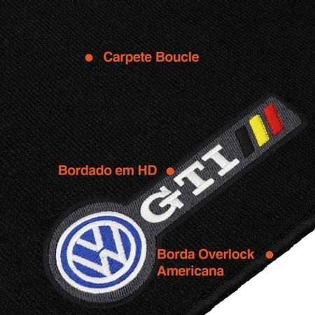 Tapete-Carpete-Premium-Golf-GTI-2017-e-2018-Preto-12mm-Bordado-HD-4-Pecas-Boucle-connectparts---1-