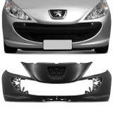 Para-Choque-Dianteiro-Peugeot-207-2010-2011-2012-2013-2014-2015-Preto-Liso-Espaco-Placa-connectparts---1-
