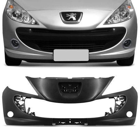 Para-Choque-Dianteiro-Peugeot-207-2010-2011-2012-2013-2014-2015-Preto-Liso-Furo-Milha-connectparts---1-