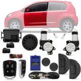Kit-Vidro-Eletrico-Volkswagem-Up-14-a-17-Dianteiro-Sensorizado---Alarme-Automotivo-Positron-PX360-BT-Connect-Parts--1-