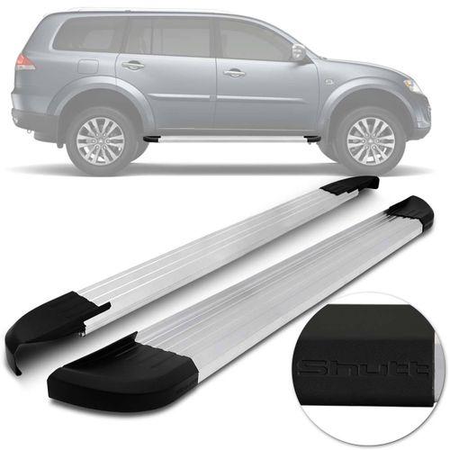 Par-Estribos-Laterais-Shutt-Pajero-Dakar-09-a-18-Aluminio-Prata-Ponteira-Preta-Modelo-Original-connectparts---1-