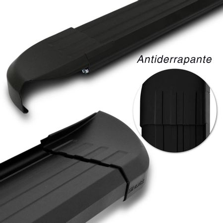 Par-Estribos-Laterais-Shutt-Ssangyong-Kyron-08-a-11-Aluminio-Preto-Ponteira-Preta-Modelo-Original-connectparts---4-