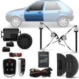 Kit-Vidro-Eletrico-Ford-Fiesta-96-a-2002-Dianteiro-Sensorizado---Alarme-Automotivo-Positron-PX360-BT-Parts--1-