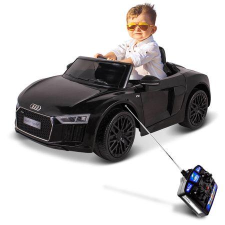 Carrinho-Eletrico-De-Controle-Remoto-12V-Audi-Tt-R8S-Preto-connectparts--1-