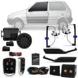 Kit-Vidro-Eletrico-Uno-Economy-04-a-13-Dianteiro-Sensorizado---Alarme-Automotivo-Positron-PX360-BT--1-