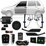Kit-Vidro-Eletrico-Premio-Uno-85-a-03-Dianteiro-Sensorizado---Alarme-Automotivo-Positron-PX360-BT-Connect-Parts--1-