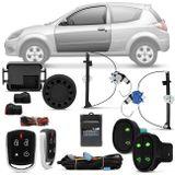 Kit-Vidro-Eletrico-Ford-Ka-2008-a-2014-Dianteiro-Sensorizado---Alarme-Automotivo-Positron-PX360-BT-Connect-Parts--1-