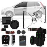 Kit-Vidro-Eletrico-Ford-Fiesta-03-a-14-Dianteiro-Sensorizado---Alarme-Automotivo-Positron-PX360-BT-Connect-parts--1-