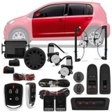 Kit-Vidro-Eletrico-Volkswagem-UP-2014-a-2018-Sensorizado-4-Portas---Alarme-Automotivo-Positron-PX360-BT--Connect-Parts--1-