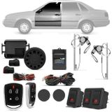 Kit-Vidro-Eletrico-Santana-Quantum-87-a-97-Dianteiro-Sensorizado---Alarme-Automotivo-Positron-PX360-BT-Connect-Parts--1-