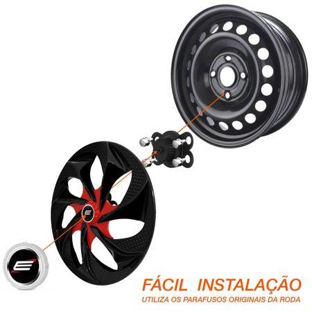 Kit-Calota-Esportiva-Tuning-Universal-Prime-Aro-14-Preto-com-Vermelho-connectparts---1-