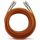 Cabo-Rca-Kx3-5-Metros-5Mm-Pvc-Flexivel-Laranja-Tripla-Blindagem-connectparts---1-