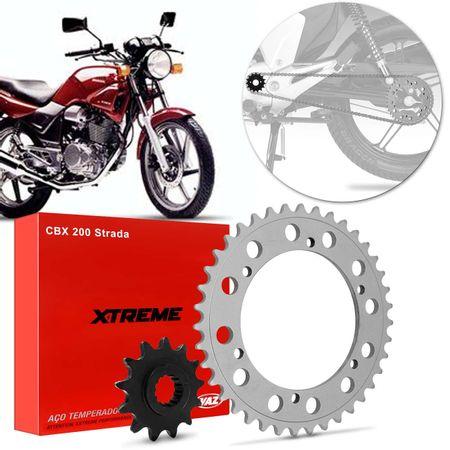 Kit-Coroa-Pinhao-Cp-Temperado-Honda-Cbx200-1995-2003-Hcp0020T-connectparts---1-