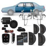 Kit-Vidro-Eletrico-Vw-Santana-1998-a-2006-Sensorizado-4-Portas---Alarme-Automotivo-Positron-PX360-BT-connectparts---1-