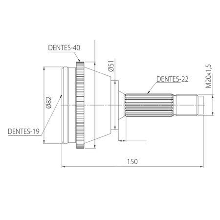 Junta-Homocinetica-Chery-QQ-1.1-16V-09-em-Diante-connectparts---5-