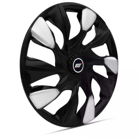 Kit-Calota-Esportiva-DS5-Black-Silver-Aro-13-Encaixe-Preta-e-Prata-Universal-connectparts--2-