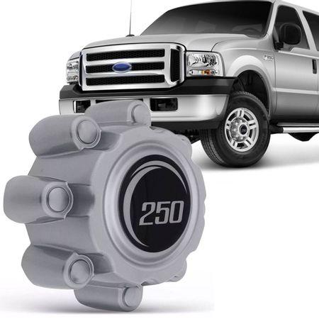 Calota-Centro-da-Roda-Ford-F250-F350-1999-a-2011-Prata-Acabamento-Impecavel-Facil-Instalacao-connectparts---1-