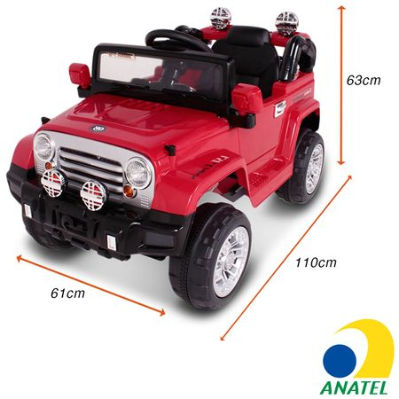 Carrinho-Eletrico-Intanfil-Modelo-Jipe-Trilha-Vermelho-De-Controle-Remoto-MP3-12V-2-Portas-connectparts--1-