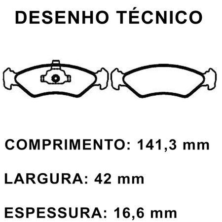Pastilhas-De-Freio-Dianteira-Ford-Fiesta-Ka-Mazda-121-connectparts---1-