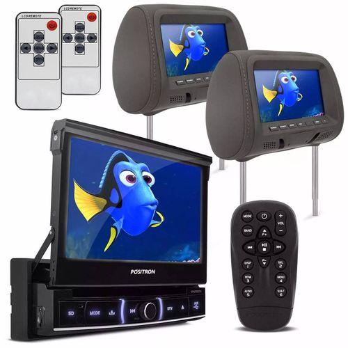 DVD-Player-Positron-SP6720-DTV-Retratil-7-Pol-TV-Digital---Par-Tela-Encosto-7-Pol-Grafite-Connect-Parts--1-