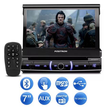 DVD-Player-Positron-DTV-7-Pol-Retratil-BT-USB-Micro-SD-TV-RCA-com-Camera-Re-Colorida-Mini-Tartaruga-connect-parts--1-