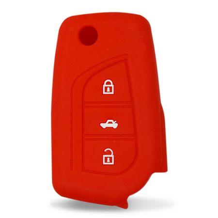 Capa-De-Silicone-Para-Chave-Canivete-Toyota-Corolla-Gli-E-Xei-Vermelho-connectparts---2-