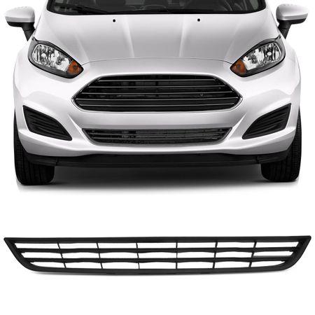 Grade-Dianteira-Ford-New-Fiesta-Hatch-2013-A-2016-Preta-Central-Para-choque-connectparts--1-