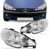 Par-Farol-Peugeot-206-1999-2000-2001-2002-2003-2004-2005-2006-Foco-Duplo-Mascara-Cromada-connectparts---1-