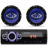 MP3-Player-Multilaser-New-1-Din-USB-SD-AUX-FM---2-Alto-Falante-Hurricane-6-Pol-130W-RMS-4-Ohms-connectparts---1-