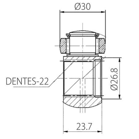 Trizeta-Renault-R19-Twingo-Clio-Megane-Kango-7701638463-connectparts---4-