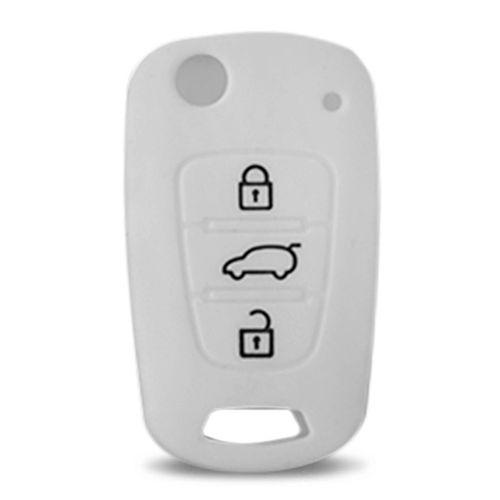 Capa-De-Silicone-Para-Chave-Canivete-Hyundai-I30-Kia-Sportage-Branco-connectparts---2-