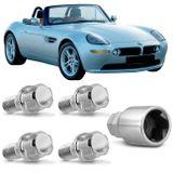Jogo-4-Porcas-Antifurto-Cromadas-Roda-M12-x-15-Z8-2001-com-Chave-Segredo-connectparts---1-