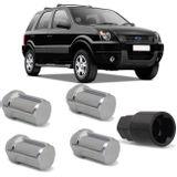 Jogo-4-Porcas-Antifurto-Cromadas-Roda-M12-x-15-Ecosport-2003-a-2010-com-Chave-Segredo-connectparts---1-