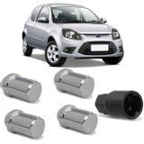 Jogo-4-Porcas-Antifurto-Cromadas-Roda-M12-x-15-Ford-Ka-1997-a-2017-com-Chave-Segredo-connectparts---1-