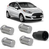 Jogo-4-Porcas-Antifurto-Cromadas-Roda-M12-x-15-New-Fiesta-Hatch-2013-a-2017-com-Chave-Segredo-connectparts---1-