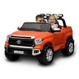 Carrinho-Eletrico-Infantil-Toyota-Tundra-JJ2255-Laranja-2-Assentos-e-Entrada-Auxiliar-MP3-24v-connectparts---1-