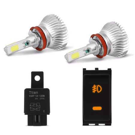 Kit-Farol-de-Milha-Frontier-13-14-15-Botao-Similar-ao-Original---Kit-Super-LED-3D-H11-6000k-connect-parts--1-