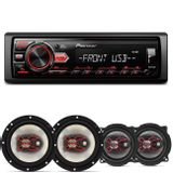 MP3-Player-Automotivo-Pioneer-MVH-98UB-1-Din---Alto-Falantes-Bravox-5-e-6-Pol-200W-RMS-connectparts---1-
