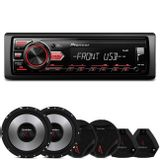 MP3-Player-Automotivo-Pioneer-MVH-98UB-1-Din---Kit-2-Vias-Bomber-Upgrade-6-Pol-200W-RMS-connectparts---1-